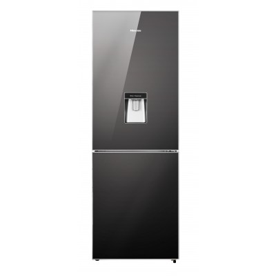 Hisense 323L Mirror Combi Fridge With Water Dispenser