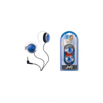 JVC HA-E130A-N Over Ear Headphones Blue