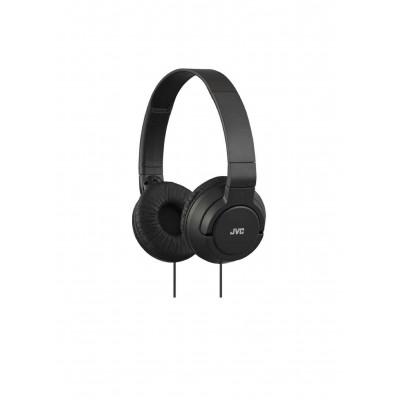 JVC HA-S180-B-K Light Foldable Headphones - Black