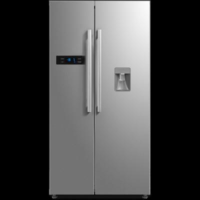Midea 522L Net A+ Side By Side W/D Fridge & Freezer Stainless