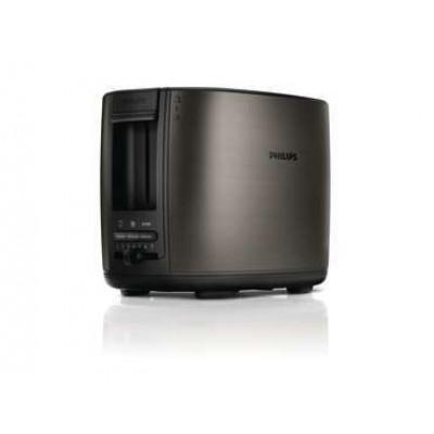 Philips HD2628/82 Toaster 2-Slot Brushed Metal Titanium Wide Slot