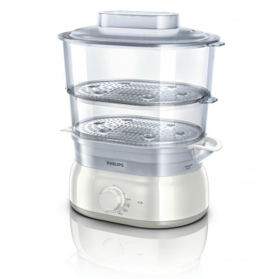 Philips HD9115/81 900W 2 Tier Daily Collection Food Steamer