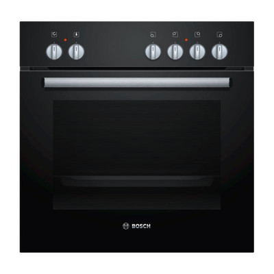 Bosch HEN201S2Z 600mm Black Built In Oven