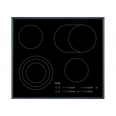 AEG 600mm 4 Cooking Plates Ceramic Hob