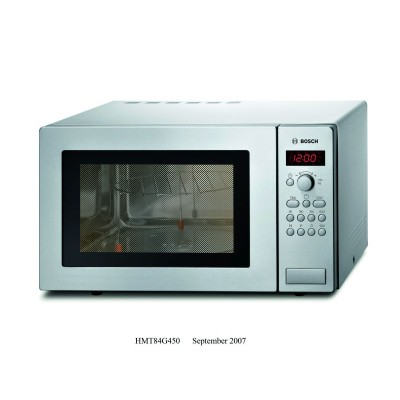 Bosch 25L Microwave With Grill