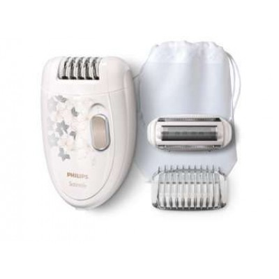 Philips HP6423/00 Satinelle Epilator With Cleansing Brush