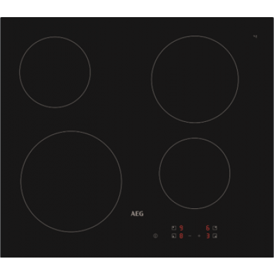 AEG HRB64600CB 60cm Touch Control Ceramic Hob