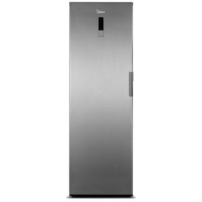 Midea 260L Net A+ Upright Larder Freezer - Stainless