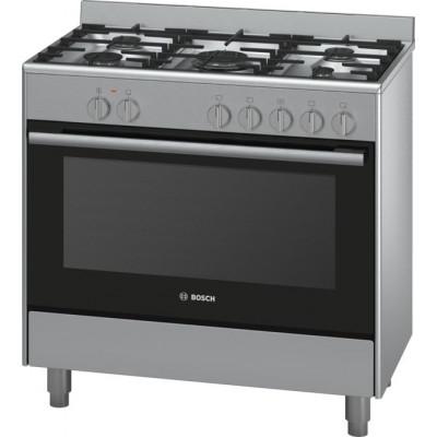 Bosch HSB734357Z 900mm 5 Burner Stainless Steel Gas/Electric Freestanding Oven