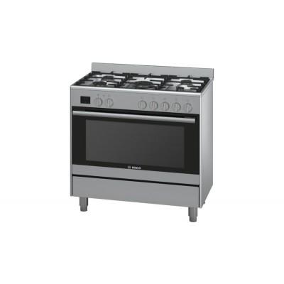 Bosch Serie 6 HSB737357Z 90cm Freestanding Gas/Electric cooker
