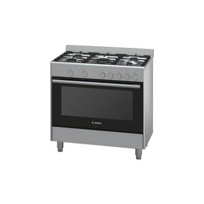 Bosch Serie 2 HSG734357Z 90cm Freestanding Gas/Gas cooker