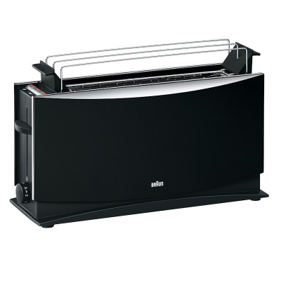 Braun 2 Slice Black Toaster