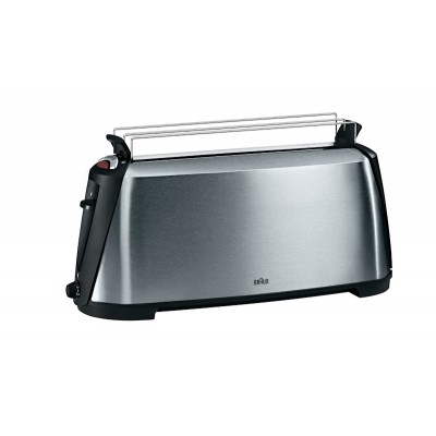 Braun 4 Slice Stainless Steel Toaster