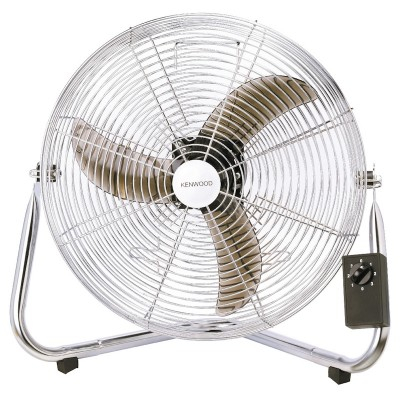 Kenwood Silver Floor Fan