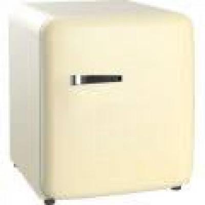 SnoMaster  BC-1 48ltr Counter Top CREAM Retro fridge