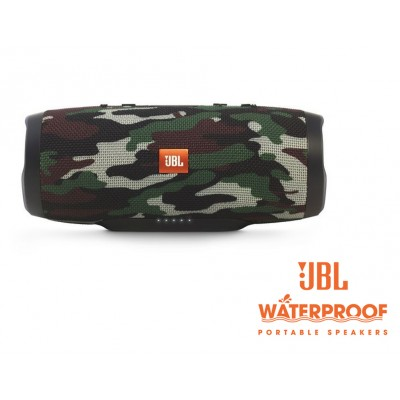 JBL Charge3 Squad Waterproof Bluetooth Speaker