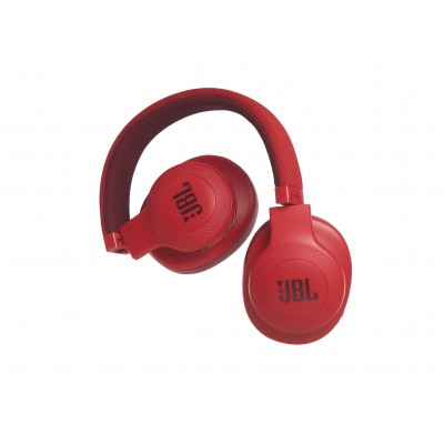 JBL E55 Bluetooth Wireless Over-Ear Headphones- Red