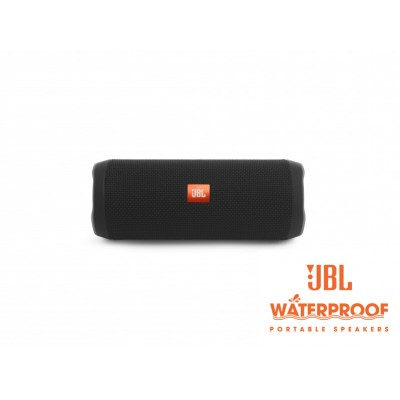 JBL Flip 4 Black Bluetooth Speaker