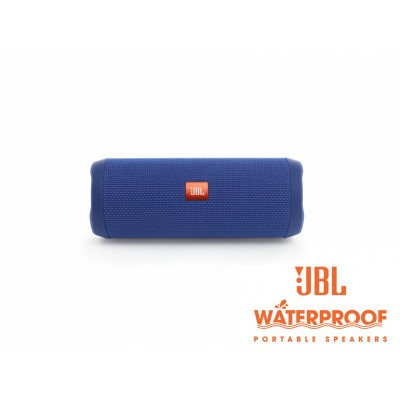 JBL Flip 4 Blue Bluetooth Speaker