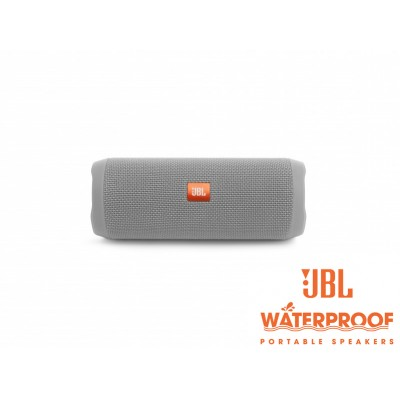 JBL Flip 4 Grey Bluetooth Speaker