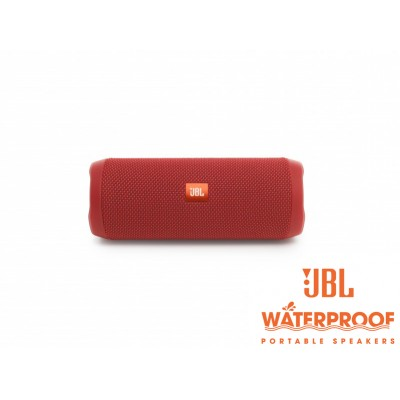 JBL Flip 4 Red Bluetooth Speaker