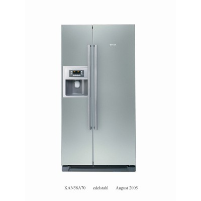 Bosch Side By Side With Water & Ice Dispenser