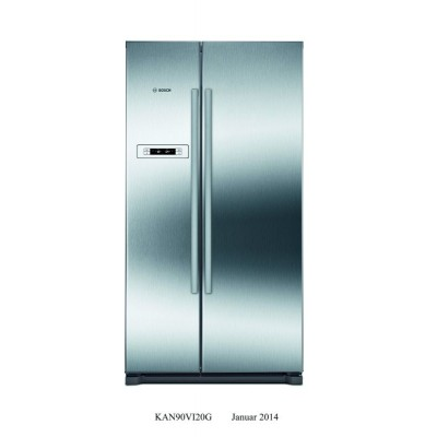 Bosch Serie 2 KAN90VI20N 573L Side-by-Side Fridge