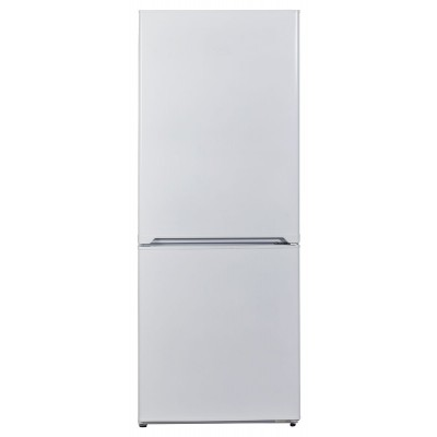 KIC 276L White Combi Fridge