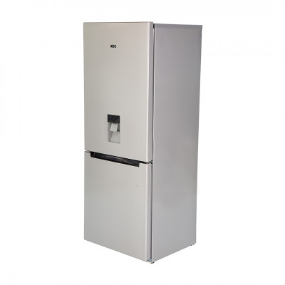 KIC KBF631MEWATER 276L Metallic Combi Fridge Freezer with Water Dispenser