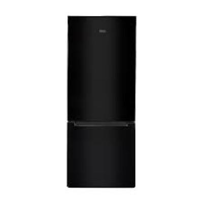 KIC KBF 635 BL 314L Black Combi Fridge Freezer