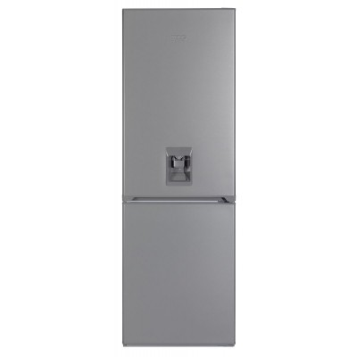 KIC 344L Metallic Combi Fridge With Water Dispenser