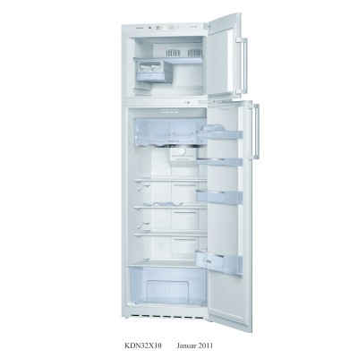 Bosch 309L White Combi Fridge