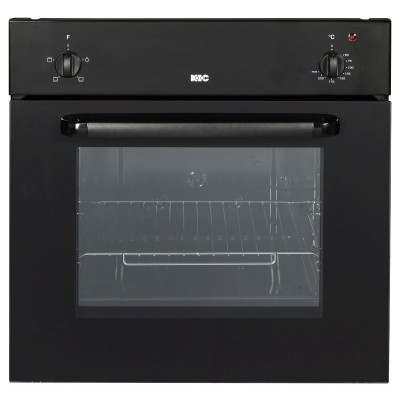 KIC Black 57L Eye Level Oven
