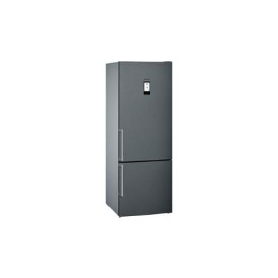 Siemens KG56NAX30U iQ500 400L Freestanding Fridge-freezer Black Stainless Steel