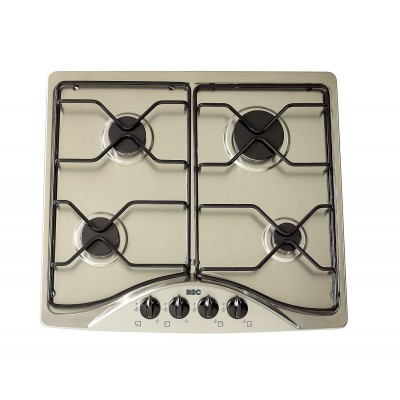 KIC 600mm Stainless Steel Gas Hob