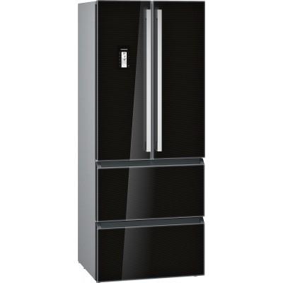 Siemens KM40FSB20 iQ700 French Door Bottom Freezer Black