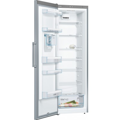 Bosch Serie 2 KSV33NI31Z 324L Single Door Full Fridge, Inox