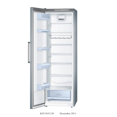 Bosch 346L Stainless Steel Single Door Full Fridge