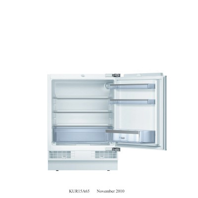 Bosch 141L Built-Under Fridge
