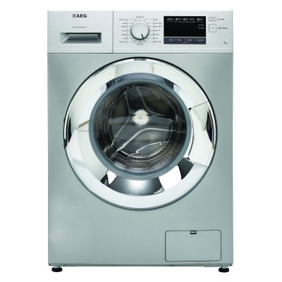 AEG L34173S 7KG Silver Front Loader Washing Machine
