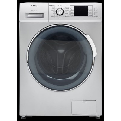 AEG L34483S 8KG Silver Front Loader Washing Machine