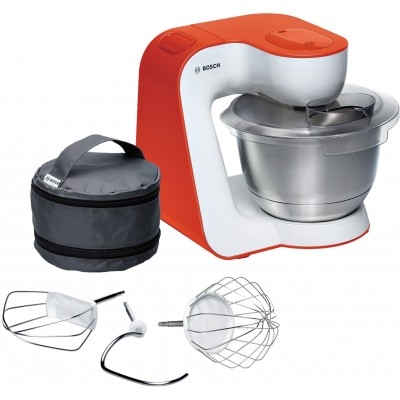 Bosch 900W White/Impulsive Orange Kitchen Machine
