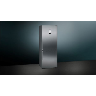 Siemens KG46NAI31Z 385L Inox Combi Fridge/freezer