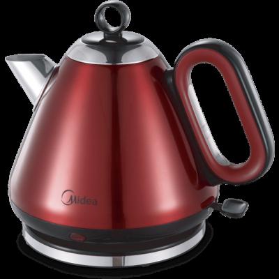 Midea Teapot Style Cordless Kettle 1.7L - Red