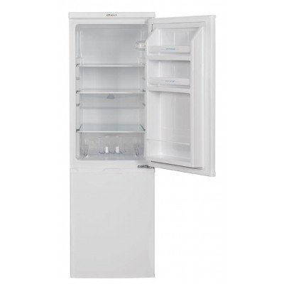 Univa UB225W 201L White Combi Fridge Freezer
