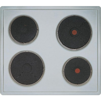 Bosch Serie 4 NCM615A01 60cm S/Steel Electric Hob (Iron Hotplates)