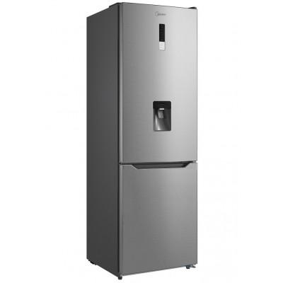 Midea 295L Net A+ Combi Fridge & Freezer Water Dispenser - Stainless