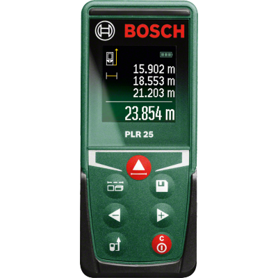 Bosch PLR 25 Range Finder