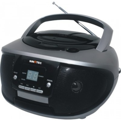 SINOTEC Portable CD Radio Player Black