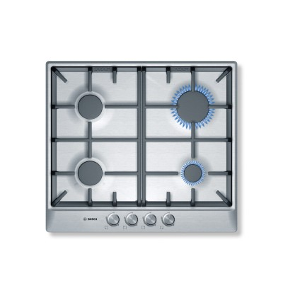 Bosch 600mm Stainless Steel Gas Hob